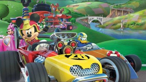 Amazonプライムビデオ「ミッキーマウスとロードレーサーズ」