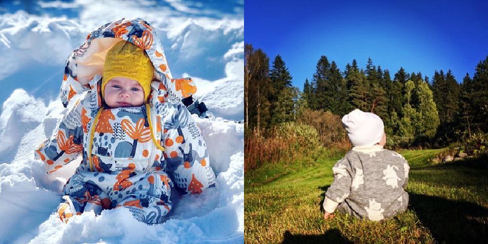 北欧の赤ちゃん