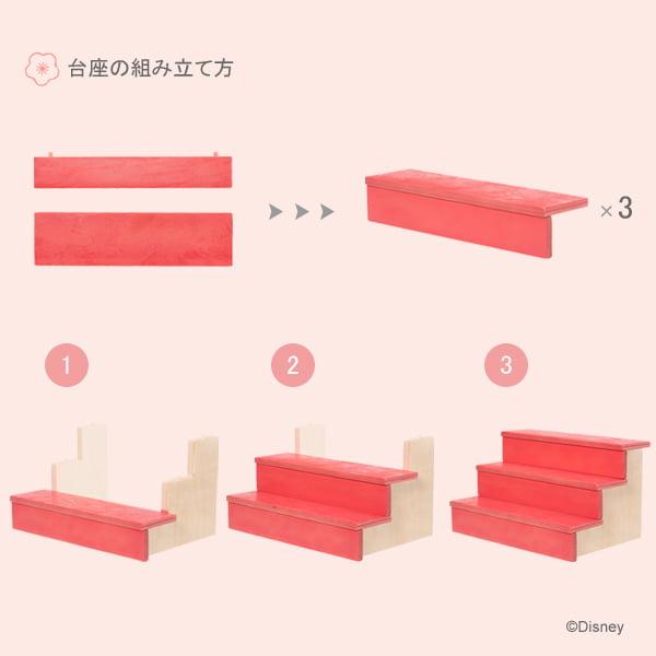 KIDEA 台座の組み立て方