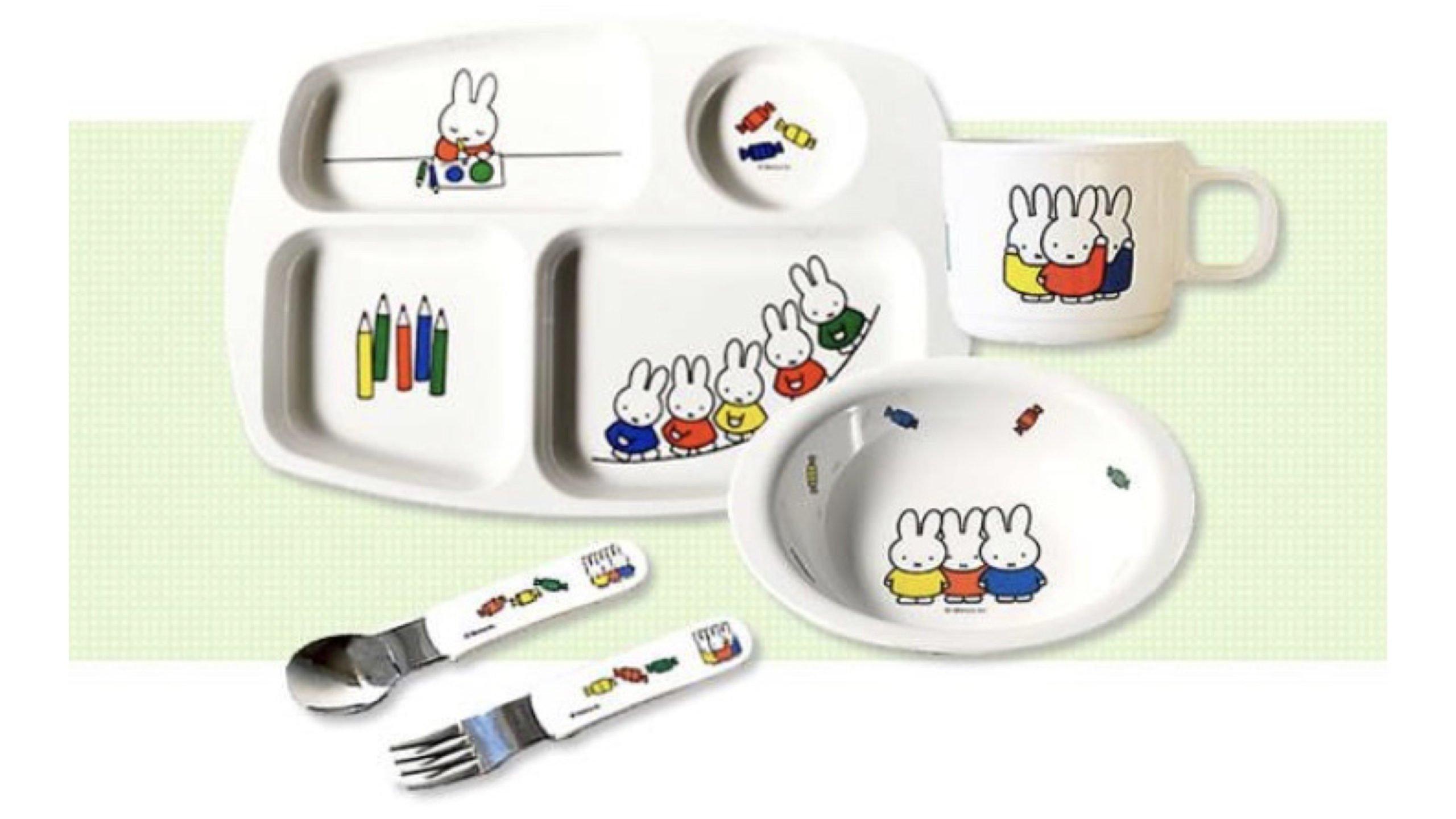赤ちゃん&子ども用におすすめ!ミッフィーの食器人気5選