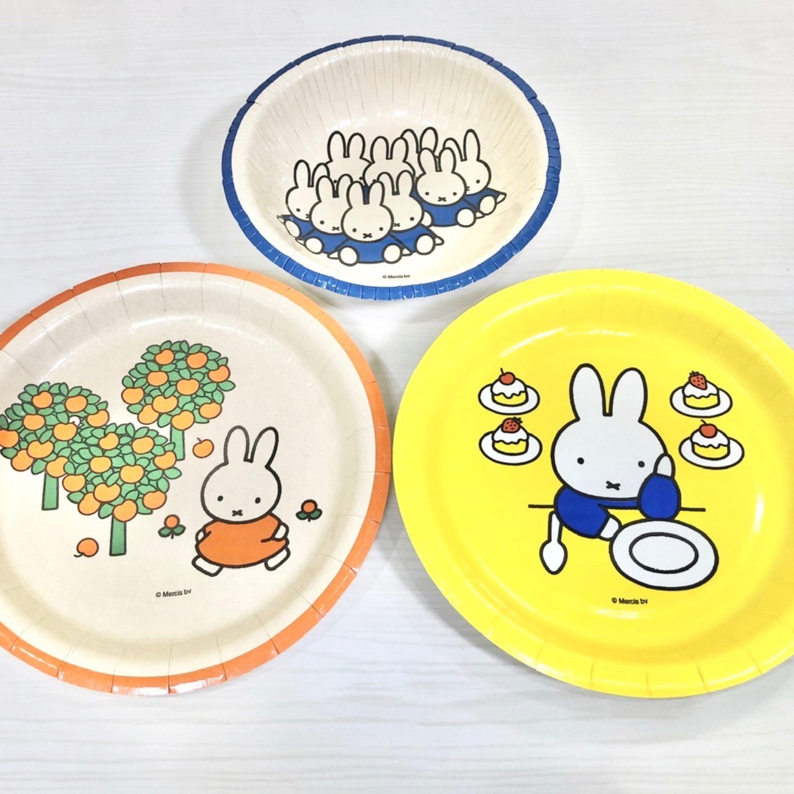 ダイソーでミッフィーの紙皿&紙コップを買ってみた!